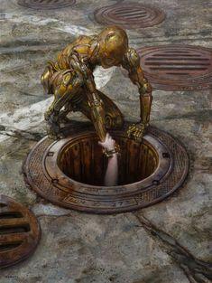 Reach, Donato Giancola on ArtStation at https://www.artstation.com/artwork/l0d2e