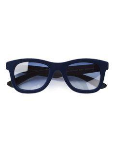 5b2e4e3b145e ITALIA INDEPENDENT square frame sunglasses on Vein - getvein.com