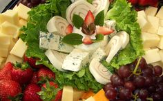 Fruit and Cheese Plate Ideas | Reception Platters - Lawsons Cafe