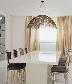 Mesa Jantar Laqueada - design casa de luxo