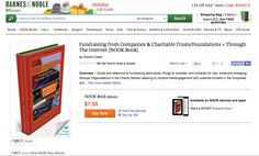iGO eBooks @ Barnes & Noble } Fundraising from Companies & Charitable Trusts/Foundations + Through The Internet [NOOK Book]