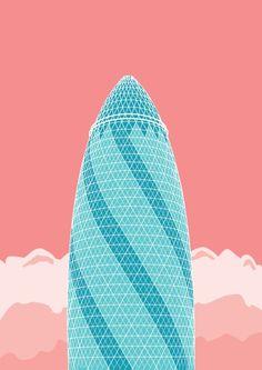 New Icons of London – Fubiz™