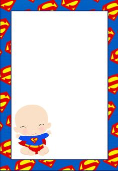 Here some Free printable superman invitationscards or labels You