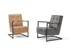 Fauteuil Bruce   Industrieel en comfortabel   Theo Stet Outdoor Chairs, Outdoor Furniture, Outdoor Decor, Recliner, Lounge, Home Decor, Couches, Armchairs, Chair
