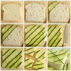 Baking with Blondie : Cucumber Tea Sandwiches