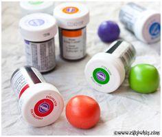 How to color fondant - Cakewhiz