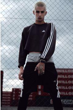 The attitude | Cropped sweatshirt | adidas