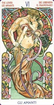 art nouveau tarot deck   TAROT ART NOUVEAU, Tarot Cards, Divination Deck, Tarot Pack, Oracle ...