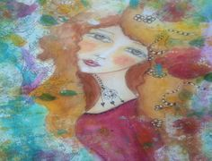Faces - Mixed Media - How To Draw