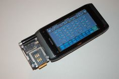 Sam Flynn's Nokia N8 Hacker Phone