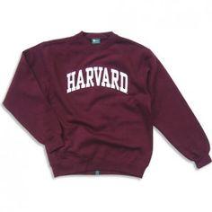 Harvard Sweatshirt - Classic (Crimson)- I want this sweatshirt so freaking bad