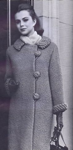 PDF Patterns Vintage Coats Cape Jackets Knitting Crochet Patterns Vintage 60's Bust Sizes 30-36 Inches Instant Reproduction eBook Download