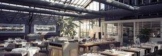 Restaurant De Kas is gevestigd in het kassencomplex van de voormalige Amsterdamse Stadskwekerij uit 1926. Maken gebruik van lokale producten,  verse ingrediënten en kweken zelf kruiden en groenten in de kassen en tuinen bij het restaurant.