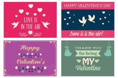 Check out Valentines Day greeting cards Vol 3 by Dana Rizescu on Creative Market