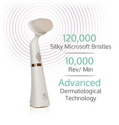 With the luxurious, gentle touch of incredibly soft bristles, vibrating at rev/min, and using the most advanced sonic technology, Lotus by Dr.K is quickly becoming the most desired facial sonic brush. Pore Cleanser, Facial Cleansing Brush, Clean Pores, How To Exfoliate Skin, Face Facial, Lotus, Health And Beauty, Skin Care, Makeup Artists