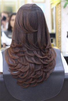 Womens Hair Highlights Tips 56 Ideas Haircuts For Long Hair With Layers, Haircuts Straight Hair, Long Layered Haircuts, Medium Hair Cuts, Long Hair Cuts, Medium Hair Styles, Curly Hair Styles, Wedding Hairstyles For Long Hair, Balayage Hair