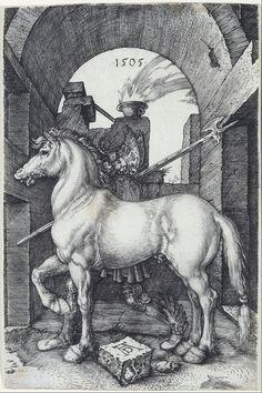 Albrecht Dürer - The Small Horse - Google Art Project - Albrecht Dürer - Wikipedia, the free encyclopedia