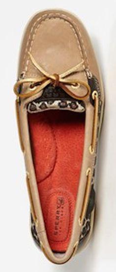 leopard sparkle boat shoes