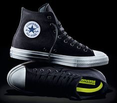 Converse Chuck II -- Once Nike bought Converse, this moment was imminent. They've updated the iconic Chuck Taylor for the first time in 98 years to include Nike technology. Purists may groan, but the Chuck 2 looks the same as it ever has and now features a Lunarlon outsole, making it much more comfortable & better for your feet.