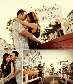 Balboa Beach, Newport, CA, engagement photography idea, urban, ocean, sunset, fun zone, outfits, clothing, Gilmore Studios