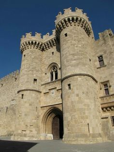 Palace of the Grand Master - Rhodes, Greece