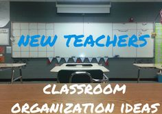 An experienced high school teacher shares ideas and resources for organizing the classroom.