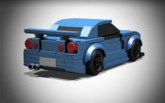 LEGO Nissan Skyline