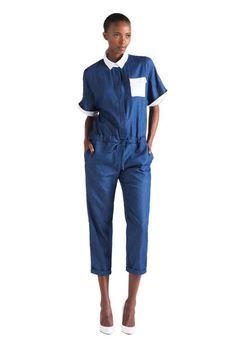 KISUA | Shop African Fashion Online - Nairobi blue jumpsuit