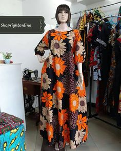 Ankara printed long dresses / kitenge long dress / women's Ankara dress / Africa print long dress for women's / kinte casual dress for women African Fashion Ankara, Latest African Fashion Dresses, African Print Fashion, Africa Fashion, African Men, African Style, Long African Dresses, African Print Dresses, Long Dresses