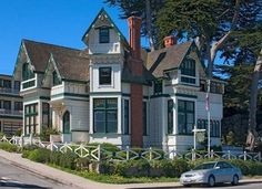 Green Gables Inn, Pacific Grove Beautiful Homes, Beautiful Places, Monterey Ca, Monterey Peninsula, Pacific Coast Highway, Green Gables, Big Sur, Victorian Homes, Photo Galleries