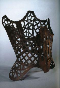 Iron Corset - creation date: 17th century O.O Jeebus Christ