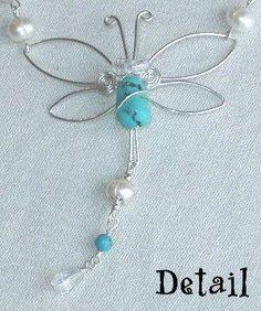 Craft ideas 10512 - Pandahall.com #dragonfly #handmadecrafts #pandahall