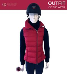 Equestrian Outfit of the Week from Equiport #equestrian #fashion #sports