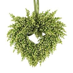 I pinned this Faux Floral Heart Wreath from the Apothecary event at Joss and Main!
