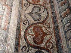 Byzantine Museum, Thessaloniki, Greece. Mosaic fixing, finishing and ideas on www.helenmilesmosaics.org