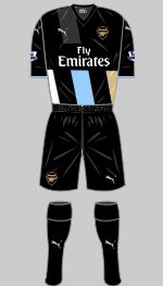 Arsenal - Third Kit. 2015/16.