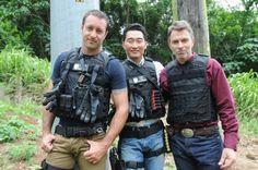 Alex O'Loughlin, Daniel Dae Kim and Timothy  Daly H50 season 4 ep 2