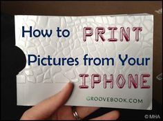 how to print pictures from your iphone