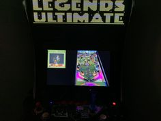Legends Ultimate firmware update 4.30.0 - Visual Pinball, Global Leaderboards for Chimera Beast and Joe & Mac 2: Lost in the Tropics, and more - Armchair Arcade