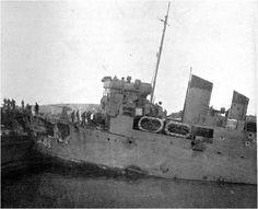 HMS Campbelltown Post Impact