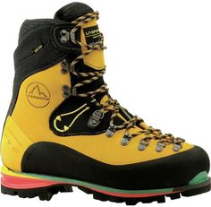 Merging traditional construction with modern materials, the La Sportiva Nepal EVO GTX integrates proven performance design with a classic fit. Combining durable leather uppers and GORE-TEX® Insulated Comfort™ lining, the Nepal is ready for your mountain. Hiking Gear, Hiking Boots, Trekking Gear, Trekking Shoes, Outdoor Outfit, Outdoor Gear, Outdoor Fun, Mens Boot, Mens Fur