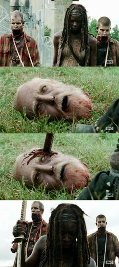 The Walking Dead | S04E09 | After | AMC. Heartbreak all over again :(