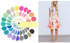 Coloração Primavera clara | My Personal Stylist Cool Skin Tone, Colors For Skin Tone, Clear Spring, Light Spring, Spring Color Palette, Spring Colors, Spring Makeup, Season Colors, Hippie Chic