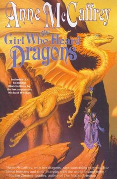 Anne McCaffreys dragons are the stuff of which SF/fantasy legends are made. All of her dragon books have been national bestsellers. The Girl Who Heard Dragons is a feast for McCaffrey fans and for all