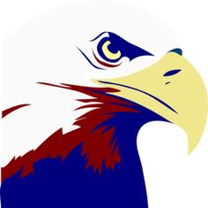 Eagle.  Red White and Blue. Shared By: Austin Wells 11-10-2010