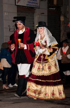 costume of quartu sant'elena_sardinia