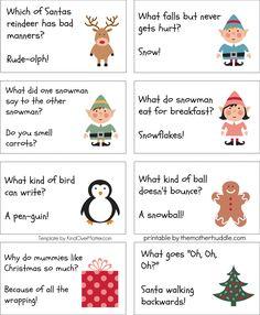 13 Awesome christmas cracker jokes for kids images Christmas Riddles For Kids, Free Christmas Printables, Christmas Humor, Winter Christmas, Christmas Crafts, Christmas Decorations, Diy Christmas Crackers, Childrens Christmas, Christmas Family Games