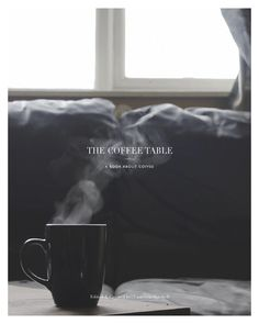 The Coffee Table  A coffee table book about coffee and the culture surrounding it