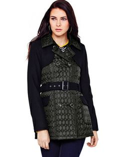 Brave Soul Quilted Jacket - I would love this jacket! :) Perfect for romantic walks on chilly evenings! #VeryLovedUp