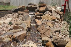 River Rock #Oasis in #Austin, #Texas backyard by DH Landscape Design